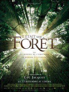 Affiche Poster Il était une forêt once upon a forest disney disneynature