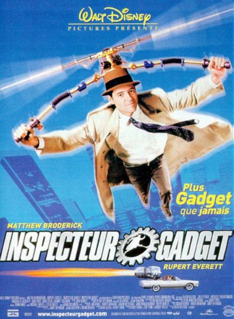 Affiche poster inspecteur inspector gadget disney