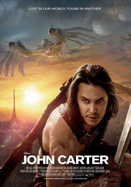 Affiche Poster john carter disney