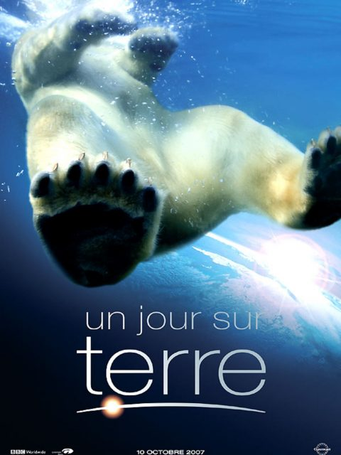 affiche poster jour terre earth disney