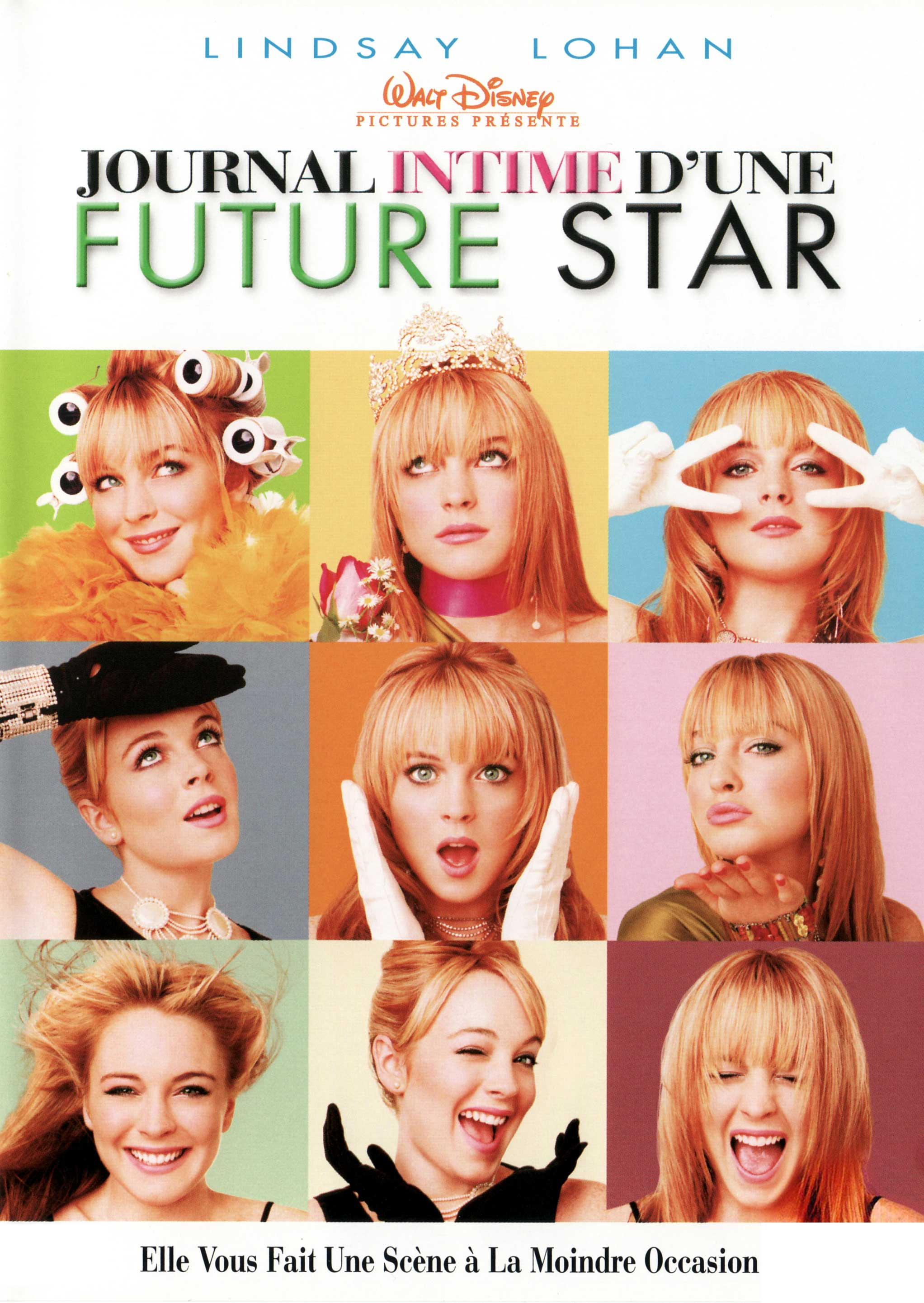 Affiche Poster journal intime future star Confessions Teenage Drama Queen disney