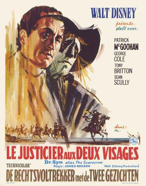 Affiche Poster justicier deux visages dr syn alias scarecrow