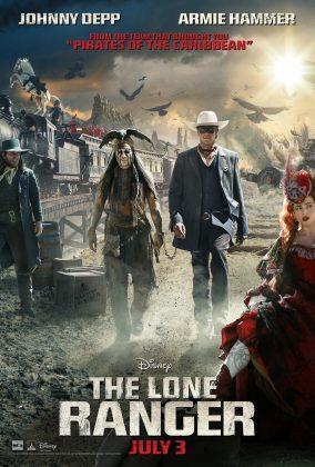 Affiche Poster lone ranger naissance heros disney