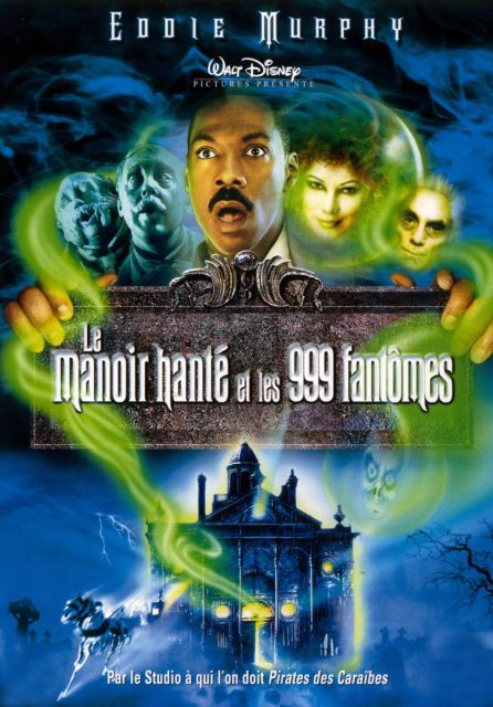 Affiche Poster manoir hanté 999 fantômes haunted mansion disney