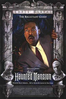 Affiche Poster manoir hanté 999 fantômes haunted mansion disney