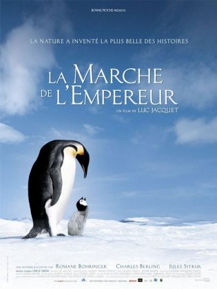 Affiche Poster Marche Empereur March penguins disney disneynature