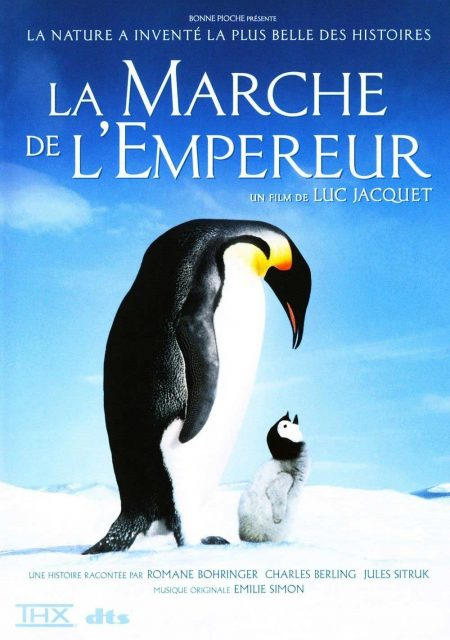 Affiche Poster Marche Empereur March penguins disney disneynature