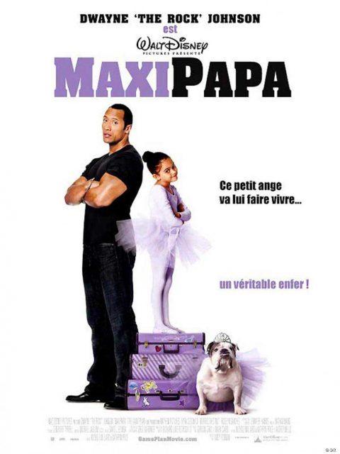 Affiche Poster Maxi Papa The game plan Disney