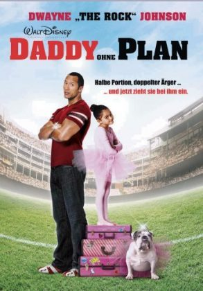 Affiche Poster Maxi Papa The game plan Disney
