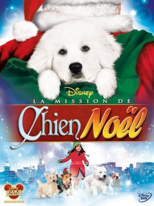 Affiche Poster Mission chien noël Search Santa Paws disney
