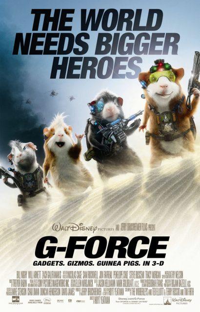 Affiche Poster mission g force disney