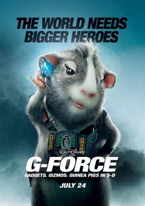 Affiche Poster mission g force disney