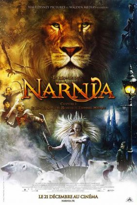 Affiche poster monde narnia lion armoire sorcière blanche wardrobe witch disney