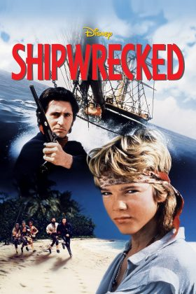 Affiche Poster naufragés île pirates Shipwrecked haakon haakonsen disney