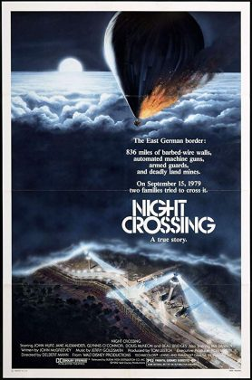 Affiche Poster nuit évasion night crossing disney