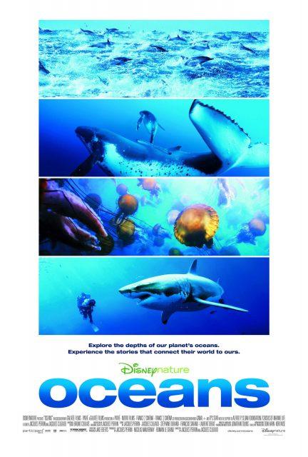 Affiche Océans Disney Disneynature