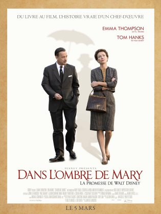 Affiche Poster ombre mary promesse walt disney saving banks