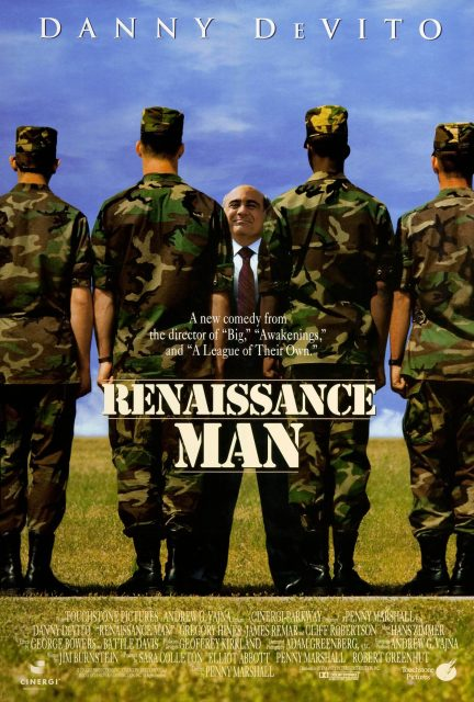 Affiche Poster opération shakespeare renaissance man disney touchstone