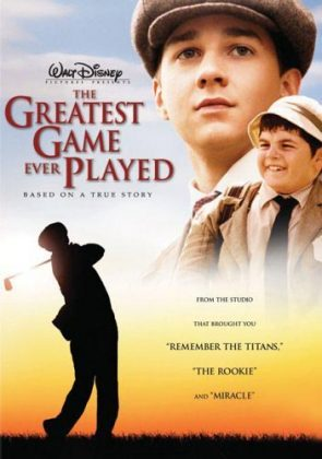 Affiche Poster parcours légende Greatest Game Ever Played disney
