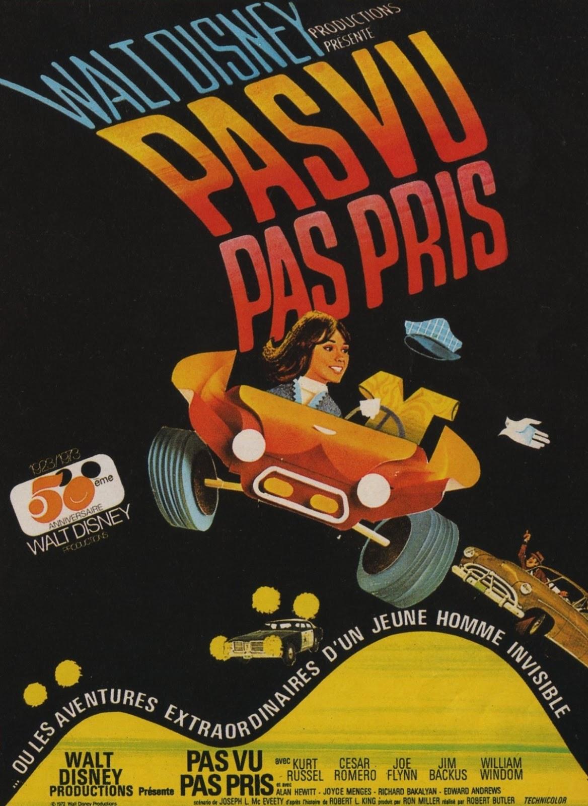 Affiche Poster pas vu pris now see him disney