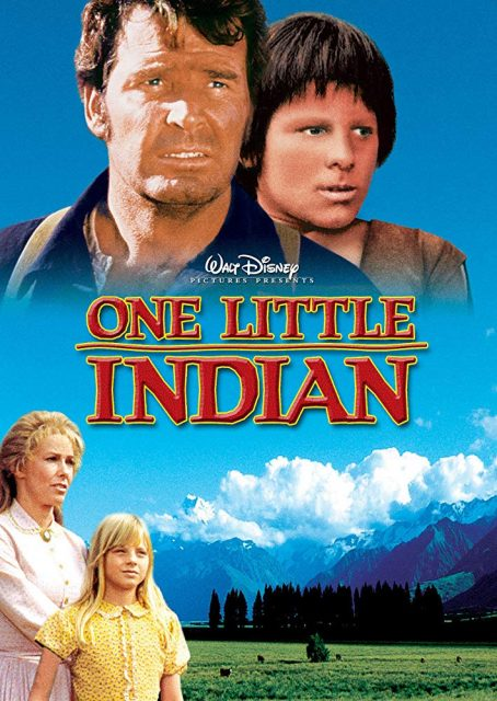 Affiche Poster petit indien one little indian disney