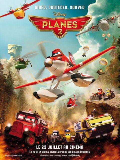 affiche poster planes 2 fire rescue disney