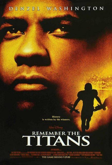 Affiche Poster plus beau combat remember titans disney