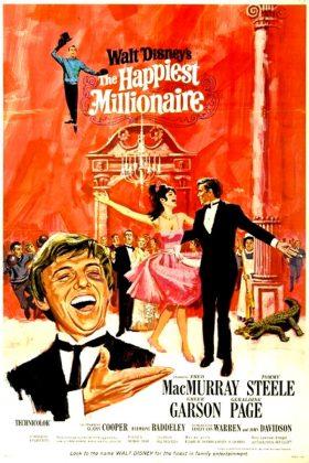 Affiche Poster plus heureux milliardaires happiest millionaire disney