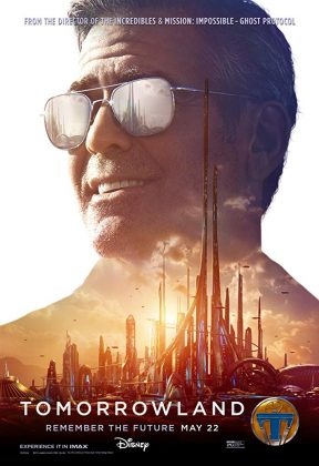 Affiche Poster poursuite demain tomorrowland disney