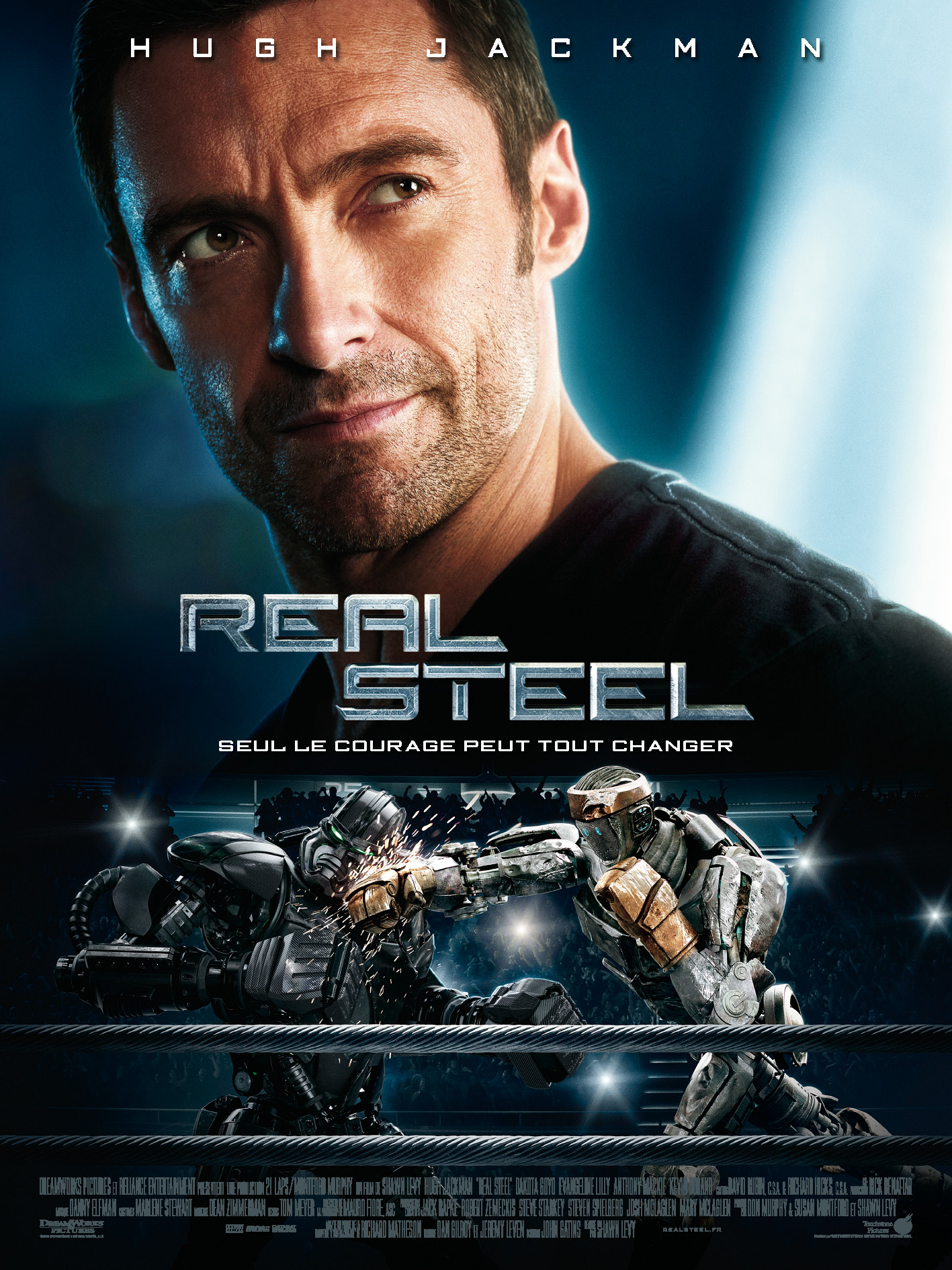 Disney Touchstone affiche real steel