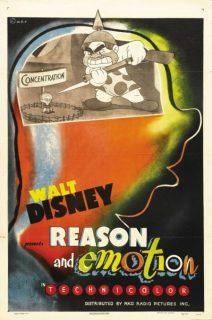 affiche poster reason emotion disney