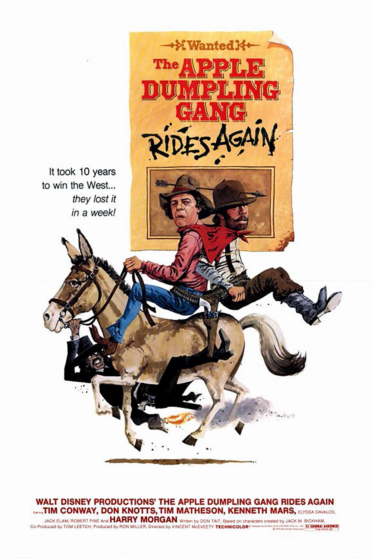 Affiche Poster retour gang chaussons pommes apple gang dumpling rides again disney