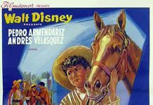Afifche Poster revanche pablito littlest outlaw disney
