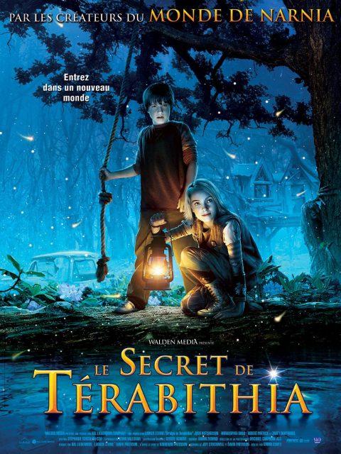 Affiche Poster Le secret de Térabithia Bridge Disney