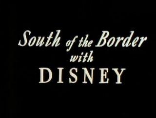 affiche poster south border disney