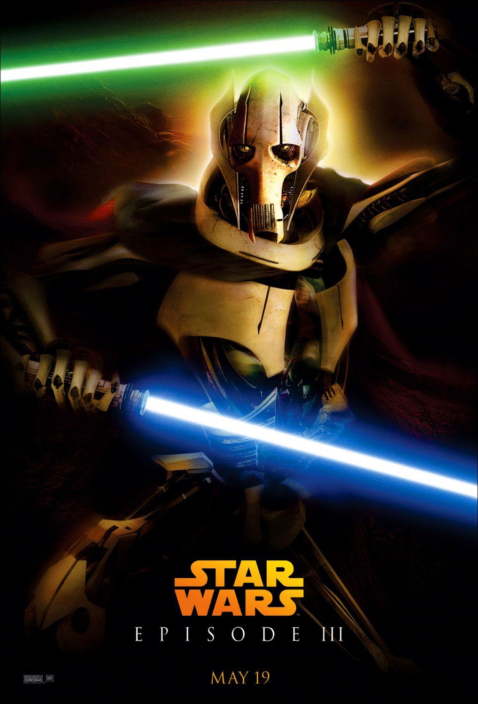 Affiche Poster star wars revenge revanche sith disney lucasfilm