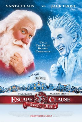 Affiche Poster super noël santa clause 3 escape disney