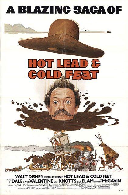 Affiche Poster tête brûlée pied tendre Hot Lead Cold Feet disney