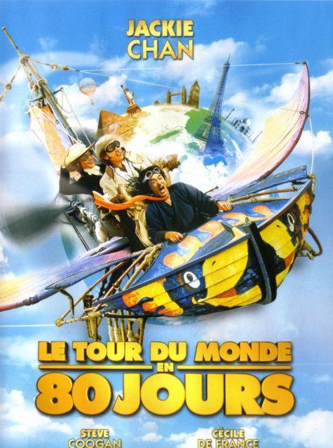 Affiche Poster tour monde 80 jours around world days disney
