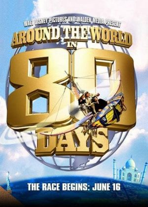 Affiche Poster tour monde 80 jours around world days disney