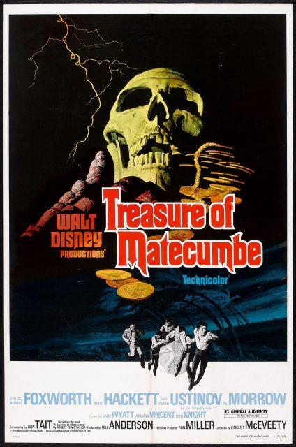 Affiche Poster trésor matacumba treasure matecumbe disney