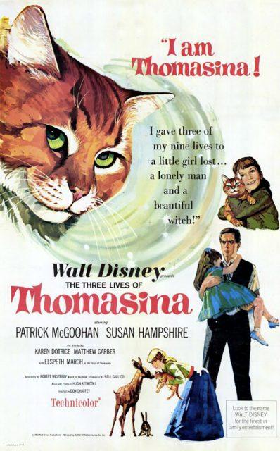 Affiche Poster trois vies thomasina three lives disney