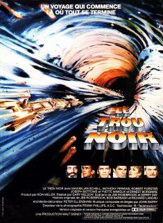 Affiche Poster trou noir black hole disney