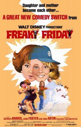 Affiche Poster vendredi dingue freaky friday disney
