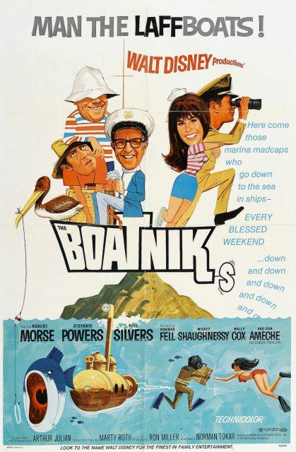 Affiche Poster vent voiles boatniks disney