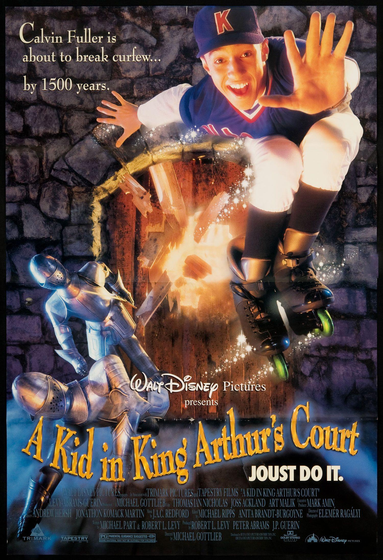 Affiche Poster kid visiteur roi Kid King Arthur Court disney