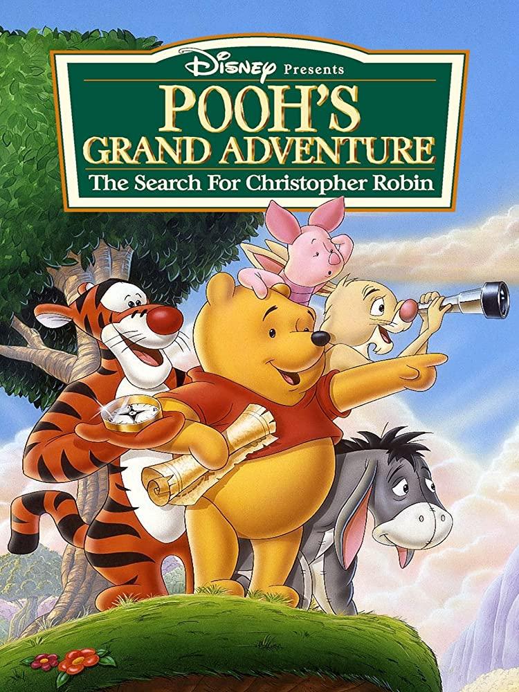 affiche poster winnie ourson 2 grand voyage pooh grand adventure disney