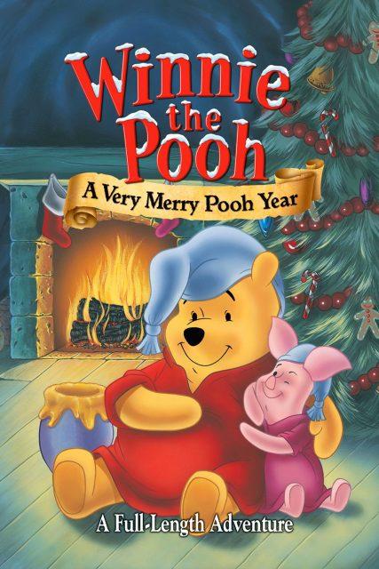 affiche poster winnie ourson bonne année pooh very merry yeah disney