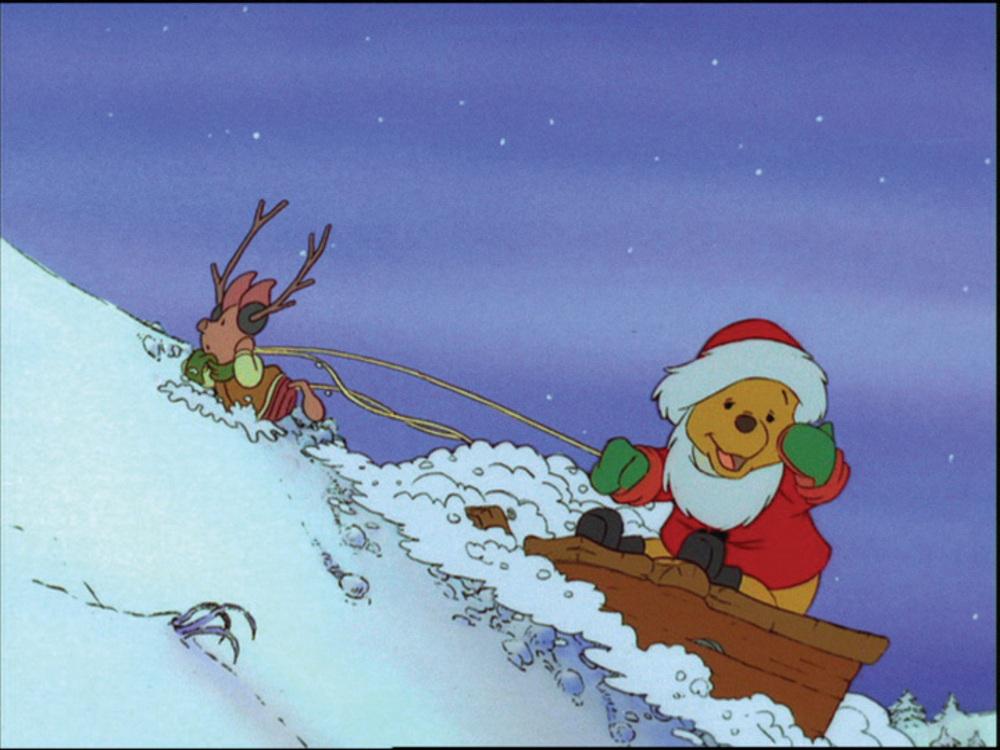 image winnie ourson bonne année pooh very merry yeah disney