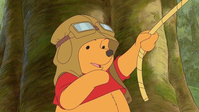 image winnie ourson éfélant pooh heffalump disney